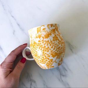 Anthropologie Dining - Anthropologie Homegrown Monogram Mug Letter H